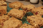 Fruit and nut flapjacks 2
